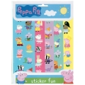 Peppa Pig Party Sticker Fun Sheets - NEW LINE